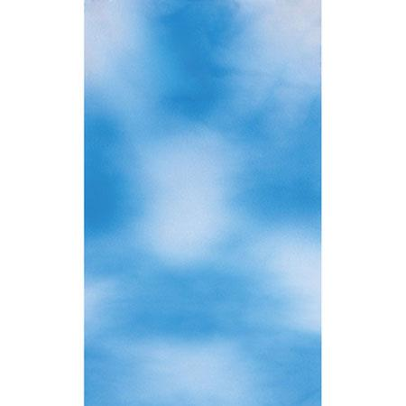 BoteroMuslin Background Sky BlueWhite 31 - 790