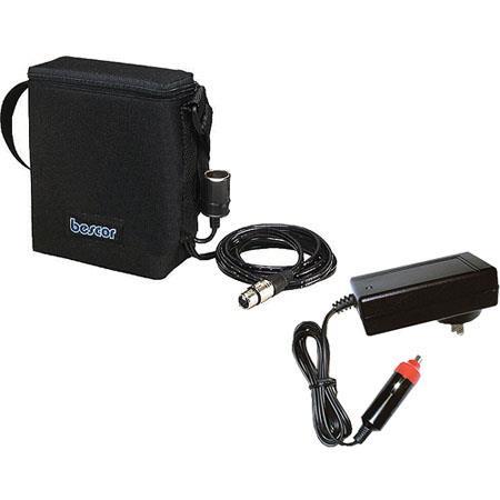 Bescor Amp Shoulder Pack Pin XLR Cigarette Outputs ATM Charger 125 - 155
