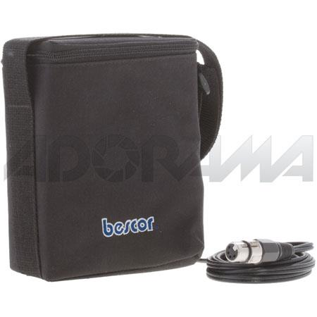 Bescor Amp Shoulder Pack Pin XLR Cigarette Outputs without Charger 55 - 718