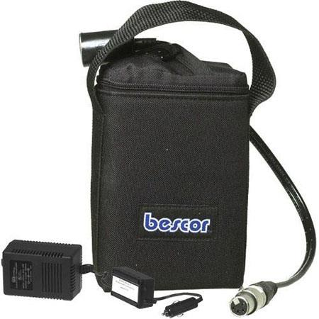 Bescor v Battery Pack One Cigarette Socket One Pin XLR Outputs and BCQ Charger 112 - 429