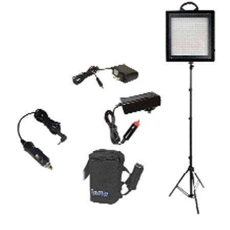 Bescor LED SB W LED Dimmable Studio Light Lead Acid Battery Kit 129 - 216