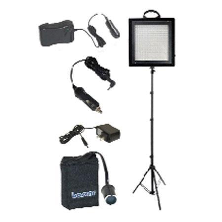 Bescor LED SNMH W LED Dimmable Studio Light NiMH Battery Kit 195 - 49