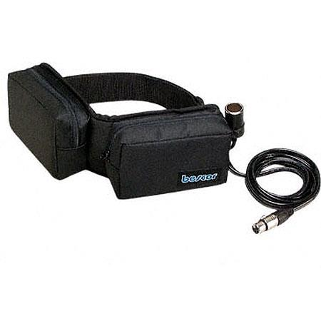 Bescor V amp Two Pouch Battery Belt and ATM Charger Cigarette XLR Power Connection 207 - 165