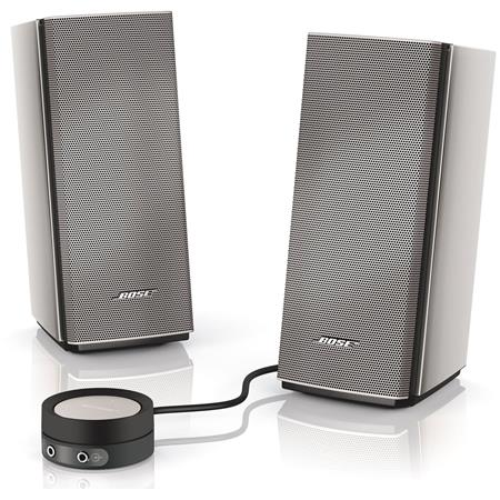 Bose Companion Multimedia Speaker System Silver 339 - 153