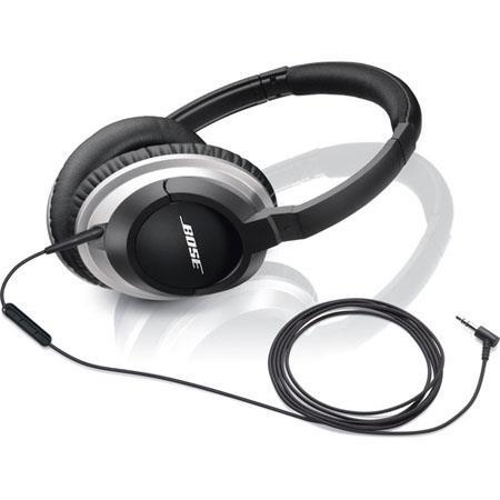Bose AEi Audio Headphones Inline Microphone Hands Free calling Silver 135 - 28