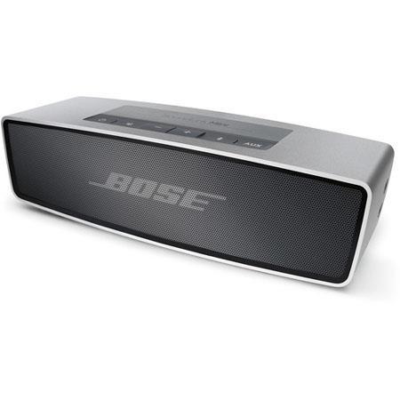 Bose SoundLink Mini Bluetooth Speaker Up to Wireless Range Silver 230 - 705