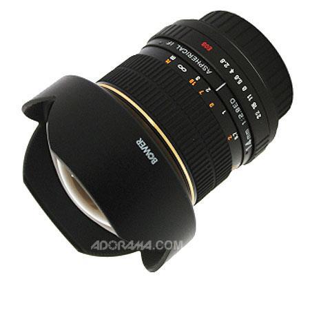 Bower f Super Wide Angle Manual Focus Lens Nikon Digital SLR Cameras Optimized APS C Size Sensors 208 - 367