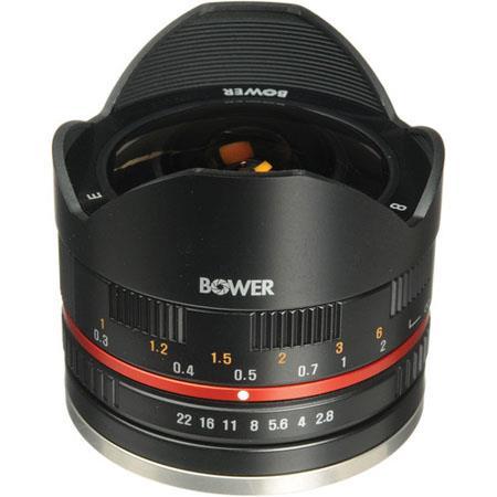 Bower Ultra Wide f Fisheye Lens Fujifilm Mount Cameras 262 - 58