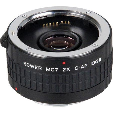 BowerDGII Teleconverter Elements Canon EF Lens 52 - 106