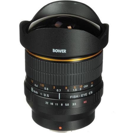 Bower Super Wide Angle f Fisheye Lens Focus Confirm Chip Nikon DSLR Cameras 36 - 373