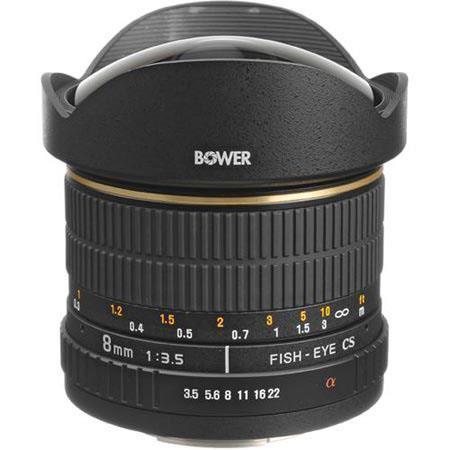 Bower f Fisheye Manual Focus Lens Sony Minolta Maxxum APS C Autofocus Cameras 142 - 103