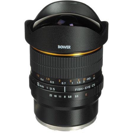 Bower Super Wide f Fisheye Lens Sony E mount Cameras 142 - 103