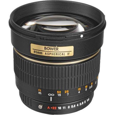 Bower f Manual Focus Lens PentaK Cameras Hood Case 86 - 417