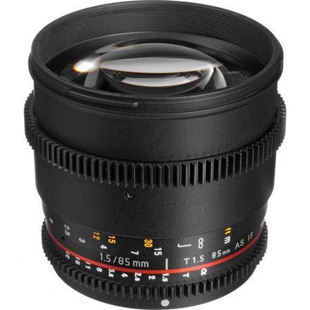 Bower T HD Cine Lens Nikon SLR Video Cameras 65 - 594