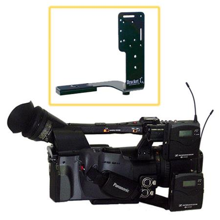Bracket Universal On Camera Wireless Receiver Mount Panasonic AGDVX Sony DSR PD DSR PDX and DCR VX C 392 - 281