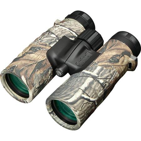 Bushnellmm Trophy XLT Water Proof Roof Prism Binocular Degree Angle of View Realtree Camouflage 127 - 484