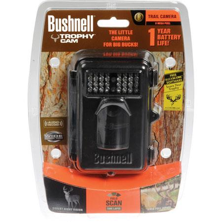 Bushnell Trophy Cam MP Night Vision Flash Digital Trail Camera BW Text LCD Display Foot Night Vision 113 - 540