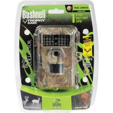 Bushnell Trophy Cam MP Night Vision BW Text LCD Digital Trail Camera Foot Night Vision Range Up to S 201 - 321