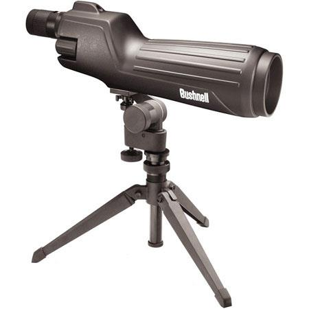 Bushnell Spacemaster Straight View Spotting Scope KitZoom Eyepiece Table Top Tripod and Backpack Car 275 - 104