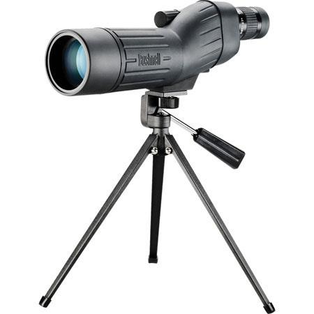 Bushnell Sentry Compact Lightweight Waterproof Straight thru Spotting ScopeZoom Eyepiece Tripod Case 85 - 337
