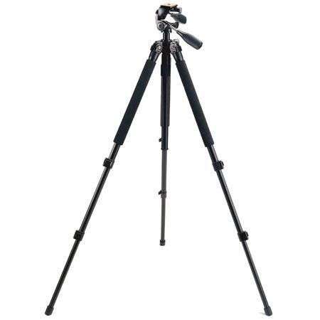 Bushnell Advanced Titanium Tripod Three way Pan Head Three position Leg Angle Adjustment 194 - 447