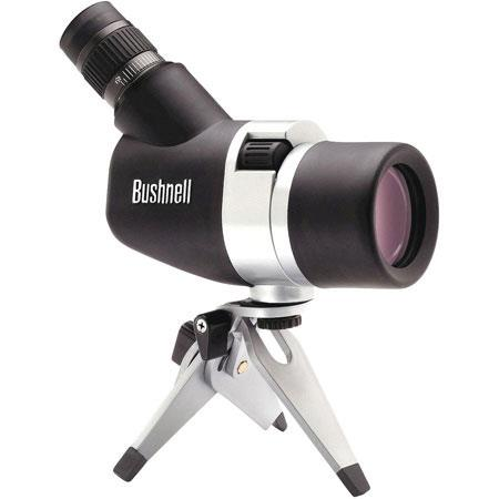 Bushnell SpacemasterZoom Collapsible Spotting Scope Outfit Angle Version Silver  175 - 191