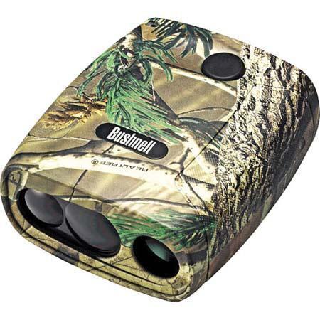 BushnellYardage Pro Sport Laser Rangefinder Range to Yards Realtree Camouflage 117 - 270