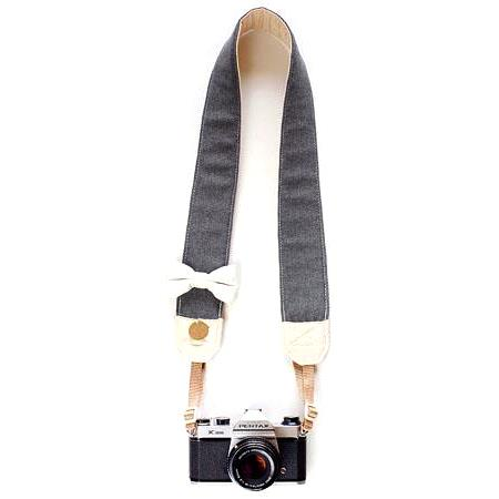 Bloom Theory All About The Beaus Fashion Camera Strap Plain No Bow Tie 186 - 281