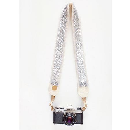 Bloom Theory Stardust Fashion Camera Strap Silver 36 - 778