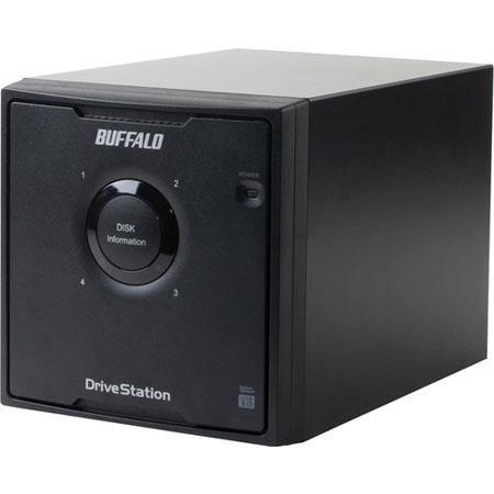 Buffalo DriveStation Quad USB HD QLUR TB Hard Drive Array MBps Data Transfer Rate 93 - 85