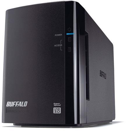Buffalo Drivestation Duo TB USB External Hard Drive RAID Array 122 - 227