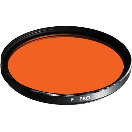 B W Multi Coated Glass Filter Orange  107 - 412
