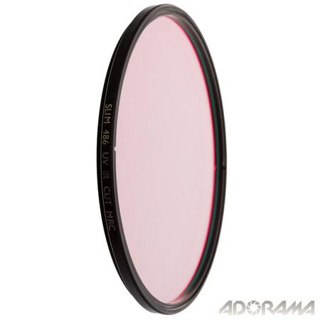 B W UVIR Blocking Wide Angle Slim Mount Glass Filter Blocking Ultra Violet and Infrared Radiation 73 - 467