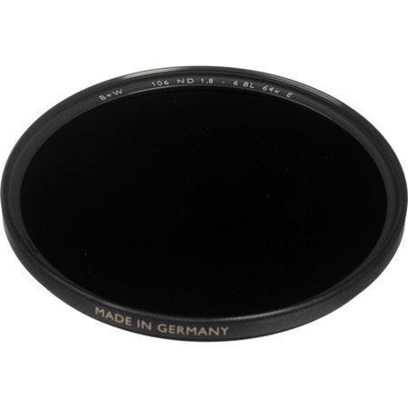 B W X Neutral Density Glass Filter Single Coating 254 - 6
