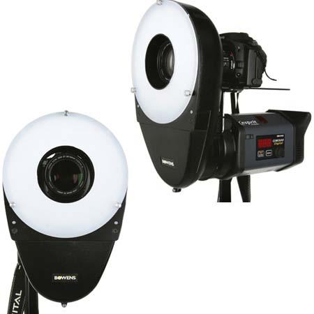 Bowens Lightweight and Portable Ringlite Converter Bowens Monolights Flash Heads S Type Mount 230 - 179