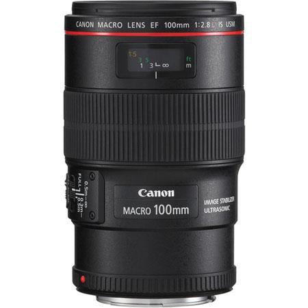 Canon EF fL IS USM Macro Auto Focus Lens Grey Market 69 - 742
