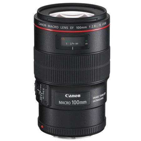 Canon EF fL IS USM Macro Auto Focus Lens USA 497 - 53