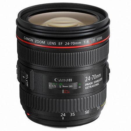 Canon EF fL IS USM Zoom Lens Grey Market 132 - 182