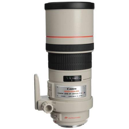 Canon EF fL IS USM Image Stabilizer AutoFocus Telephoto Lens Case Hood Grey Market 50 - 433