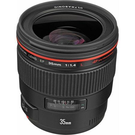 Canon EF fL USM AutoFocus Wide Angle Lens USA 155 - 697