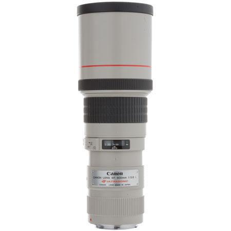 Canon EF fL USM AutoFocus Telephoto Lens Built Hood Case Grey Market 46 - 482