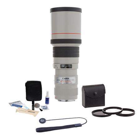 Canon EF fL USM AutoFocus Lens Kit USA Tiffen Photo Essentials Filter Kit Lens Cap Leash Professiona 139 - 314