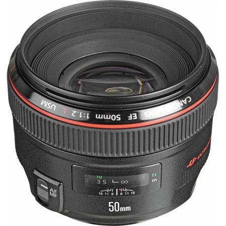 Canon EF fL USM Ultra Fast Standard AutoFocus Lens Grey Market 44 - 484
