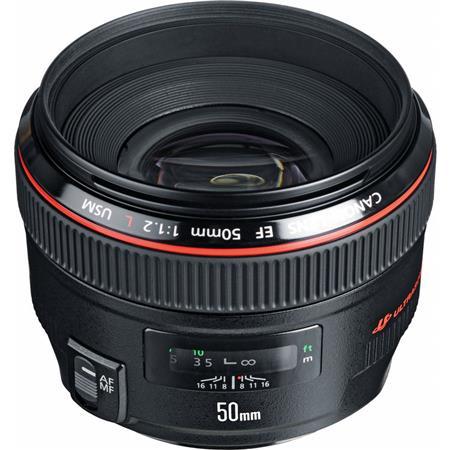 Canon EF fL USM Ultra Fast Standard AutoFocus Lens USA 44 - 484