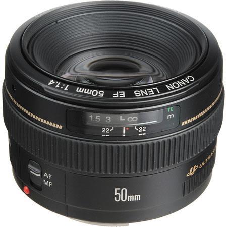 Canon EF f USM Standard AutoFocus Lens Grey Market 196 - 780