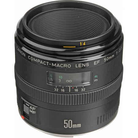 Canon EF f Compact Macro Standard AutoFocus Lens Grey Market 113 - 374