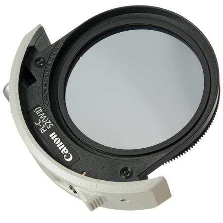 Canon Circular Polarizer Filter Drop WII 298 - 19