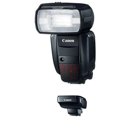 Canon Wireless Flash KitSpeedlite EX RT Shoe Mount Flashes USA and Canon ST E RT Speedlite Transmitt 45 - 523
