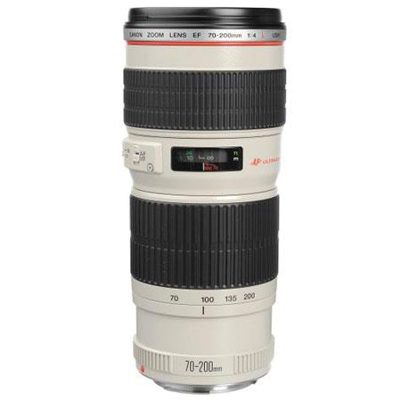 Canon EF fL USM Autofocus Telephoto Zoom Lens Case Hood Grey Market 123 - 247