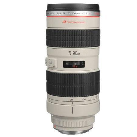 Canon EF fL USM AutoFocus Telephoto Zoom Lens case hood Refurbished 112 - 449